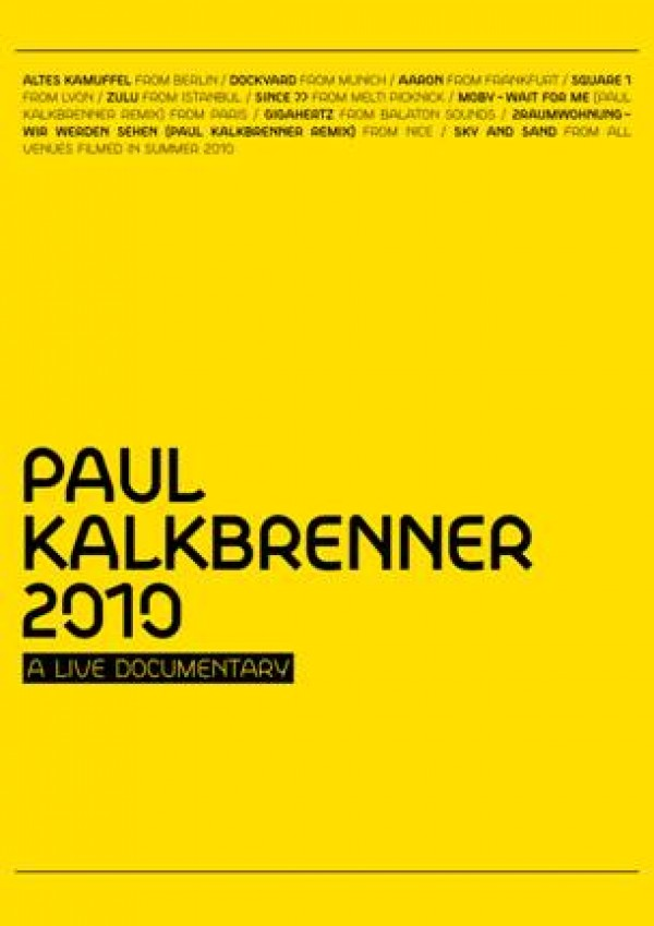 paul kalkbrenner a live documentary