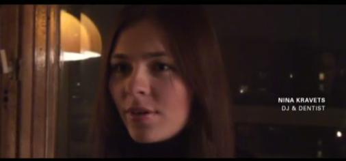 Nina Kraviz : la vidéo qui fait des bulles