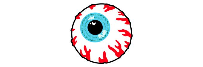 Mishka NYC logo oeil