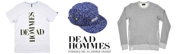 Sixpack France et Struggle Inc. de Cody Hudson créent Dead Hommes