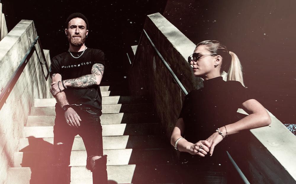 La croix et la bannière duo de marseille remixent Mila Dietrich, le titre Infection sur Slab Note