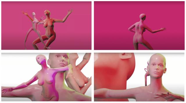 """nouveau clip hyper trippy d'Alinka à découvrir pour son ode aux dancefloors """"Sunday Morning"""", animée par Rose Bonica."""