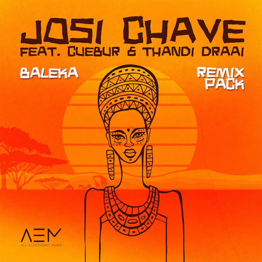 Josi Chave 'Baleka' Ep sur All Electronic music Electro d'Afrique du Sud