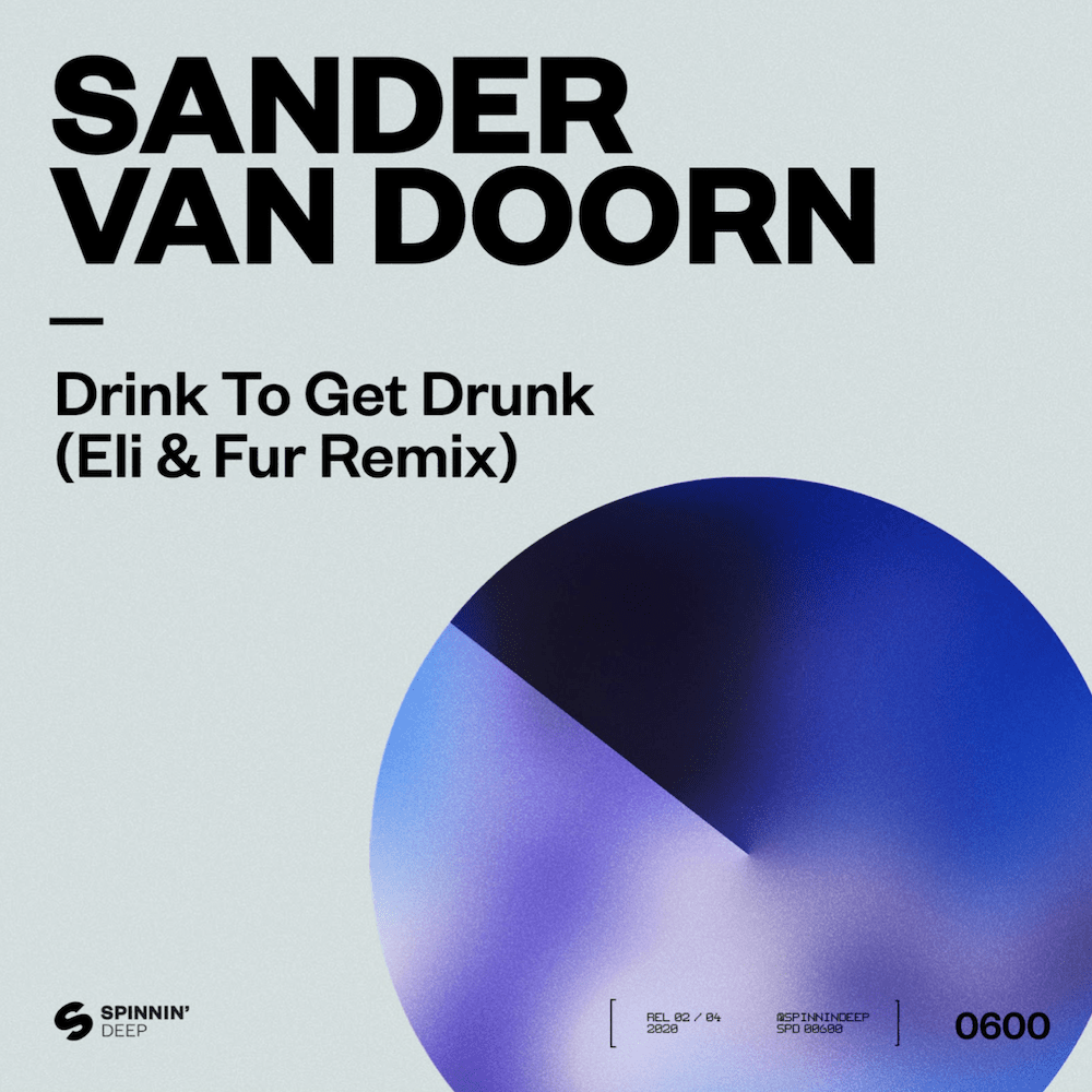 Le duo londonien Eli & Fur remixe le tube de 2011 de Sander Van Doorn « Drink to get Drunk » via Spinning Deep [Spinning Records]