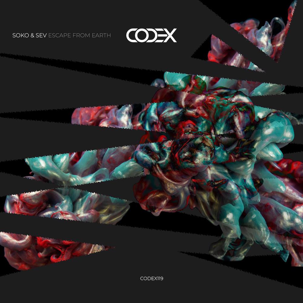 Le duo prometteur Soko & Sev annonce leur début sur Codex Recordings avec leur EP 'Escape From Earth'