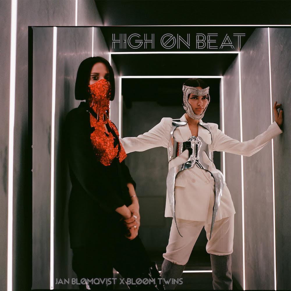 Le duo international de dark pop Bloom Twins sort un nouveau single accompagné de son clip pour « High On Beat » avec Jan Blomqvist via Armada Music