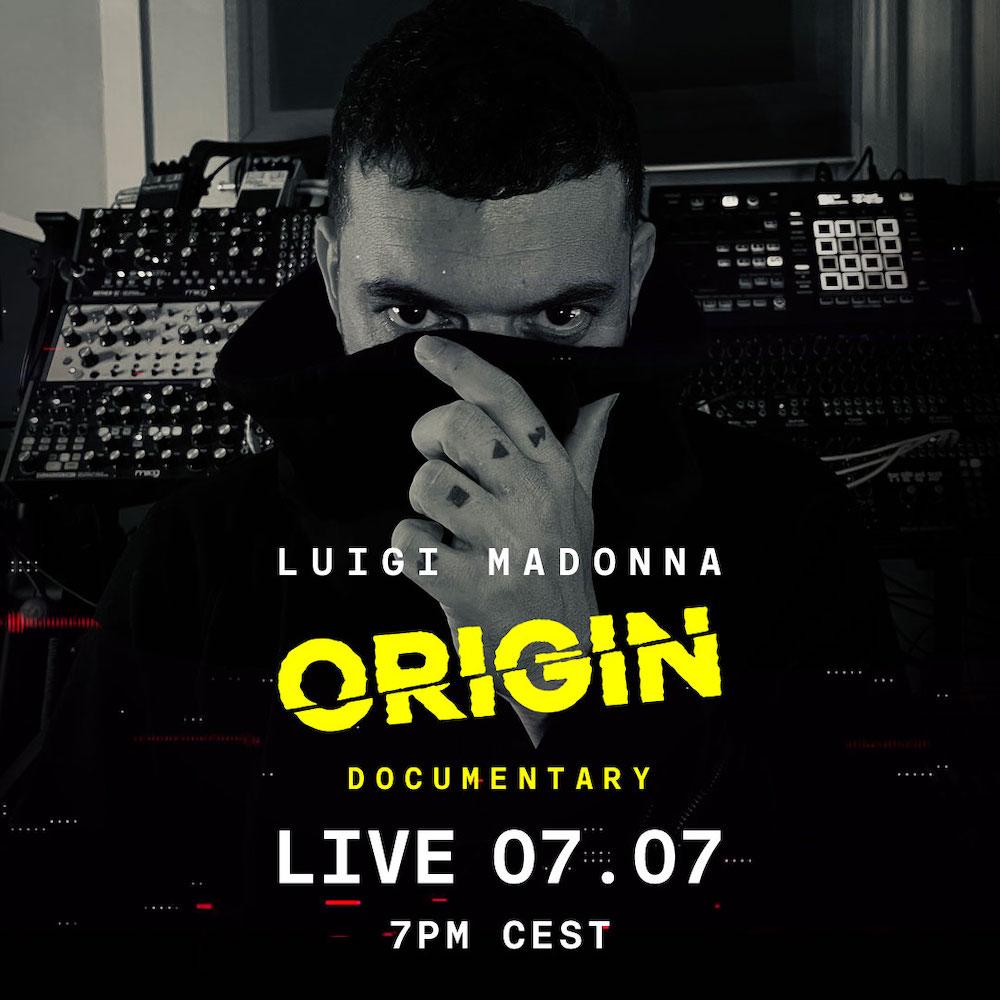Luigi Madonna sort un documentaire Origin avec Billboard Italia