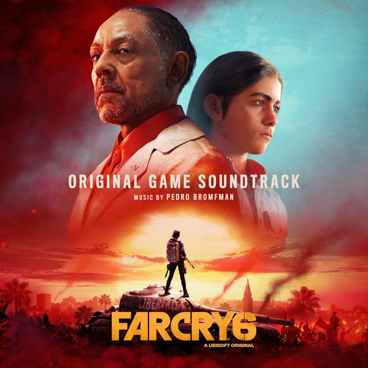 Read more about the article L'éditeur de jeux vidéo de premier plan Ubisoft révèle l'album Far Cry® 6 (Original Game Soundtrack) composé par Pedro Bromfman via Ubisoft Music