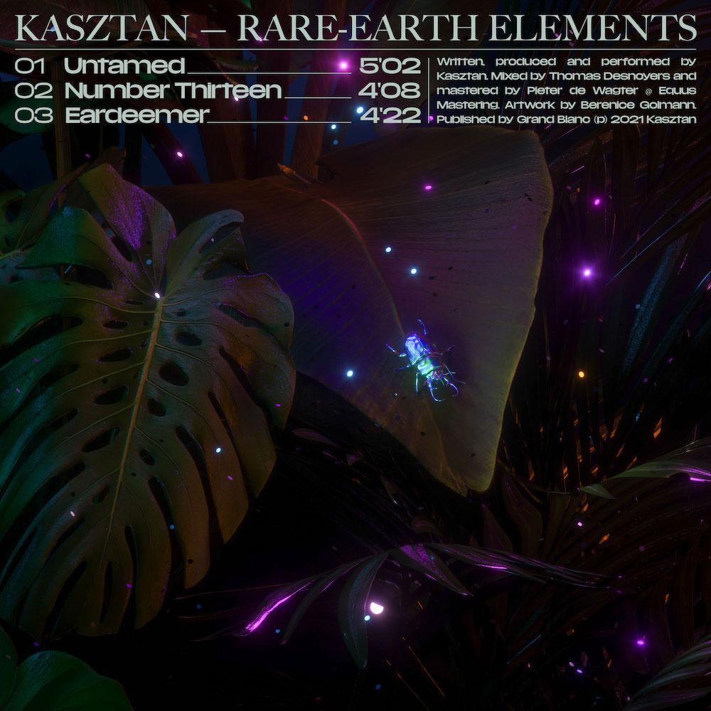 Read more about the article Le producteur Niçois Kasztan délivre une maîtrise cinématographique sur son premier EP 'Rare Earth Elements' disponible sur Dolby Atmos