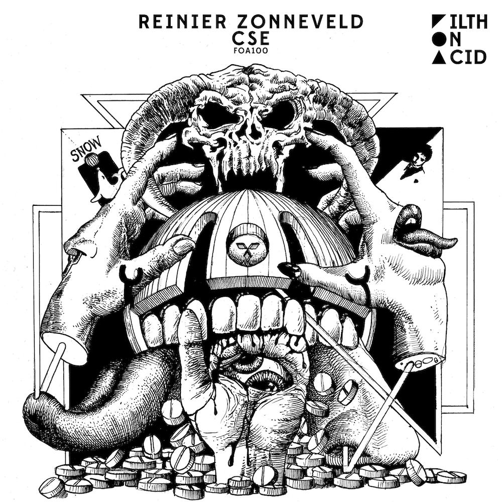 You are currently viewing Reinier Zonneveld dévoile son EP « CSE » à l'occasion de la 100e sortie de Filth On Acid
