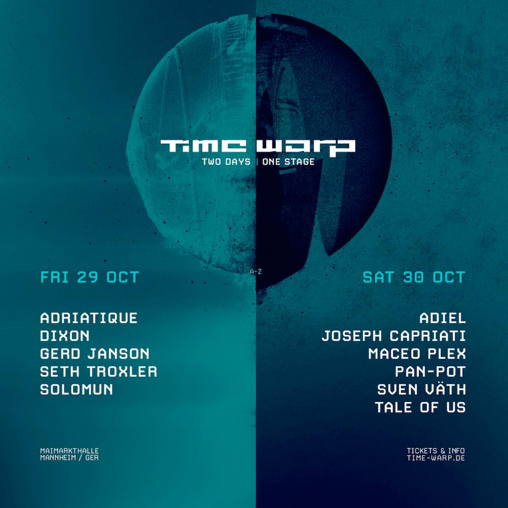 Read more about the article Time Warp revient et dévoile sa programmation 2021 : Seth Troxler, Solomun, Tale of Us, Sven Väth et plus encore.